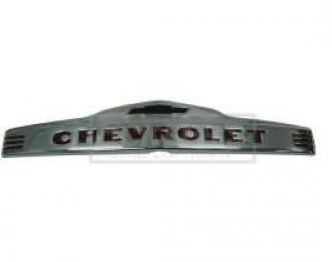 Chevy Truck Hood Emblem, Polished Stainless Steel, 1947-1953