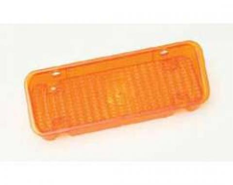 Chevy Truck Parking Light, Turn Signal Lens, Amber, Right, 1971-1972