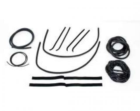 Chevy Truck Weatherstrip Kit, For Small Rear Glass, Without Stainless Steel Molding, 1955-1959