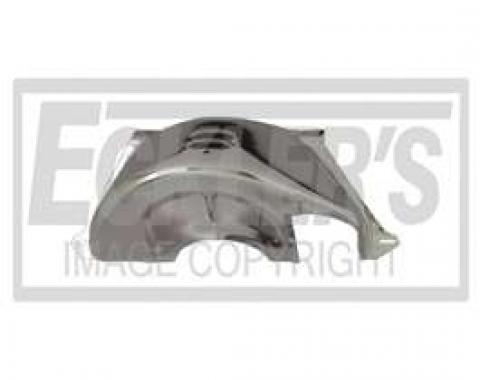 Chevy Truck Flywheel Dust Cover, Chrome, Turbo Hydra-Matic 350/400 (TH350/400) Automatic Transmission, 1947-1972