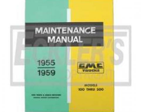 GMC Truck Shop Manual, 1955-1959