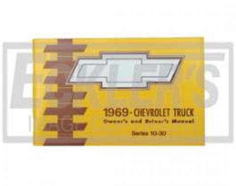 Chevy Truck Owner's Manual, 1969