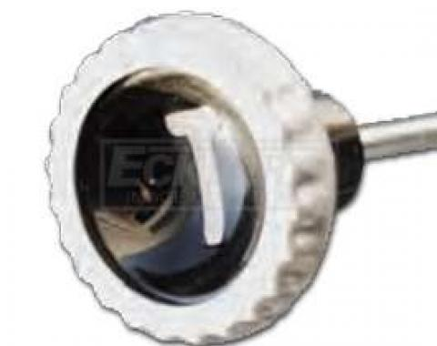 Chevy Or GMC Truck Stainless Steel Throttle Cable With Knob, 1960-1963