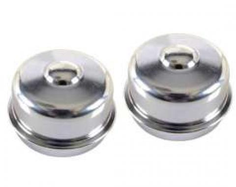 Chevy Or GMC Truck, Wheel Bearing Dust Caps, Front, 1/2 Ton, 2WD, 1962-1969