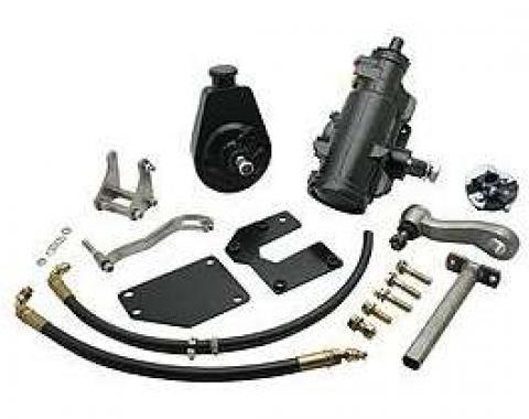 Chevy Truck Power Steering Conversion Kit, Quick Ratio, 1963-1966