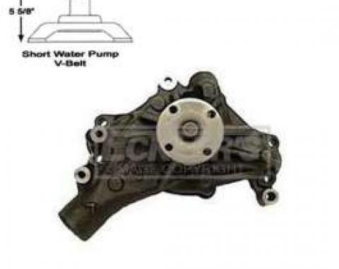 Chevy And GMC Truck Water Pump, Small Block, Long Style, AC Delco, 1970-1976