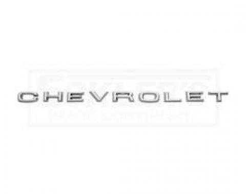 Chevy Truck Hood Letter Set, Chevrolet Word, 1967-1968