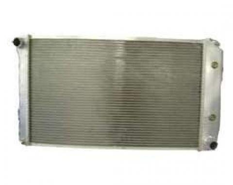 Chevy Truck Radiator, Griffin, Aluminum, HP Series, Dual Core, 1973-1987