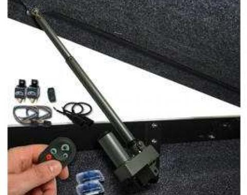 Chevy Truck Retrofit Bolt-In Tonneau Cover Lift With Remote & One Touch Operation