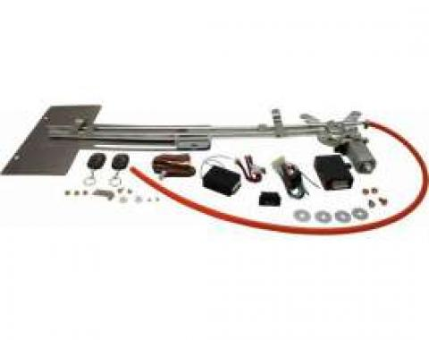 Chevy Truck & GMC Automatic Hidden License Plate Kit, Deluxe With Remote, 1967-1998