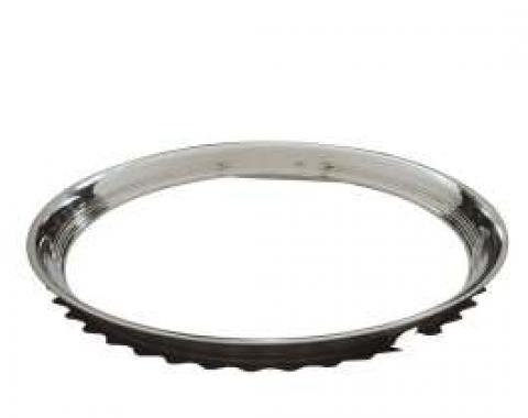 Chevy Truck Wheel Trim Ring, 16, Ribbed, 1947-1972