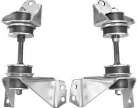 Chevy Truck Engine Mount, Front, Small Block, 1955-1959
