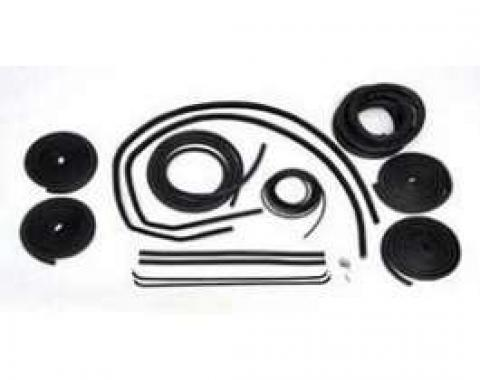 Chevy Truck Weatherstrip Kit, For Large Rear Glass, Without Stainless Steel Molding, 1964-1966