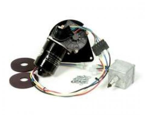 Chevy & GMC Truck Electric Wiper Motor, Replacement, With Delay Switch, 1967-1972