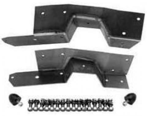 Chevy Truck Rear Frame C-Notch Kit, Bolt-On, 1963-1972
