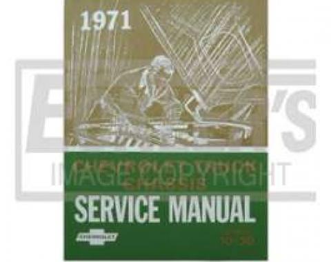 Chevy Truck Shop Manual, 1971