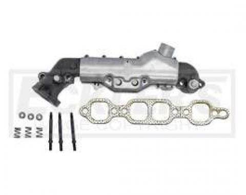 Chevy & GMC Truck Manifold. Exhaust, Right, 5.0L/5.7L, w/Heat Stove, 1983-1986