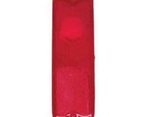 Chevy Truck Taillight Lens, Red, Fleet Side, 1967-1972