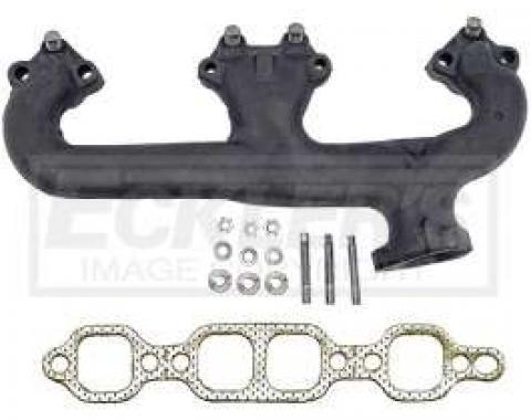 Chevy & GMC Truck Manifold, Exhaust, Left, 5.0L, 1973