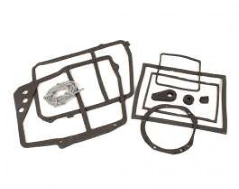Chevy Truck Heater Gasket Set, For Trucks With Air Conditioning, 1967-1972