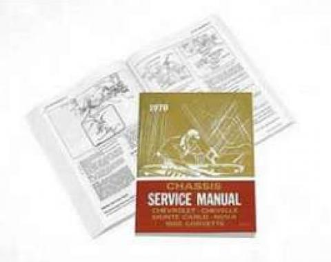Chevy Truck Shop Manual, 1970
