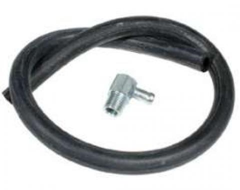 Chevy Truck Vacuum Hose Kit, Brake Booster, With 90? Fitting 1947-1987