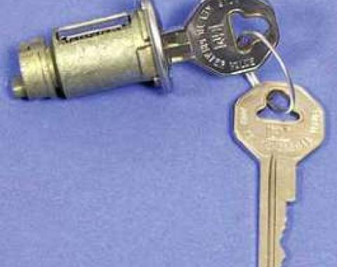 Chevy Truck Ignition Lock Cylinder, With Keys, 1947-1966