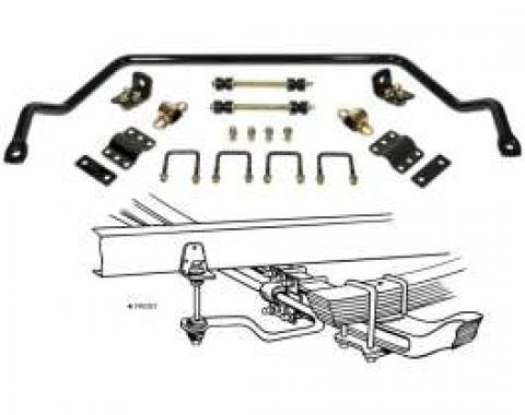 Chevy Truck Anti-Sway Bar Kit, Front, 1955-1959