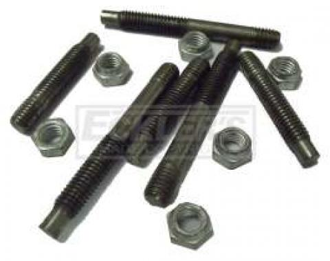 Chevy Or GMC Truck Exhaust Manifold Stud Kit, Steel, V8, 1973-1979