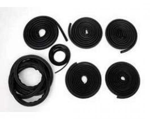 Chevy Truck Weatherstrip Kit, For Large Rear Window, Without Stainless Steel Molding, 1960-1963