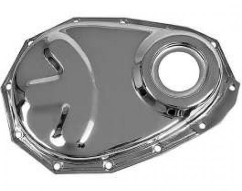 Chevy Truck Timing Cover, Chrome, 6-Cylinder, 1954-1962
