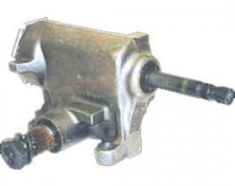 Chevy Truck Steering Gear Box, Manual, With 2-Wheel Drive, 1968-1972