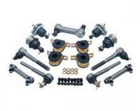 Chevy Truck Front End Rebuild Kit, With Rubber Bushings, 1973-1982