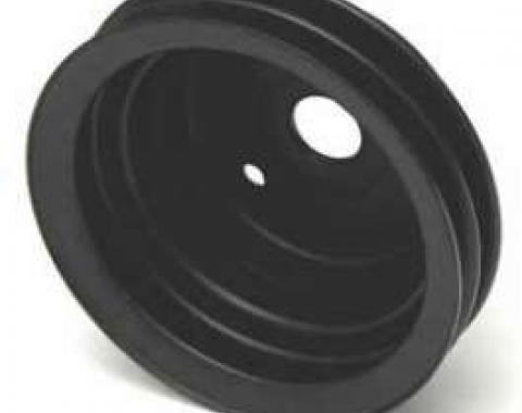 Chevy Truck Harmonic Balancer Pulley, Double Groove, 1969-1972