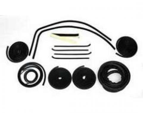 Chevy Truck Weatherstrip Kit, For Small Rear Glass, Without Stainless Steel Molding, 1960-1963