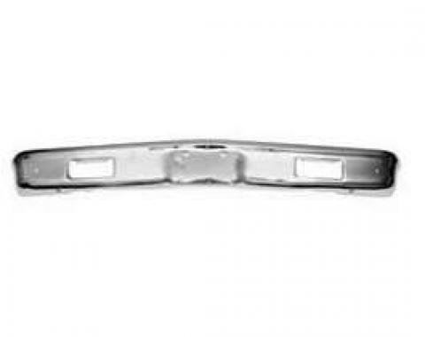 Chevy Truck Chrome Front Bumper, 1971-1972
