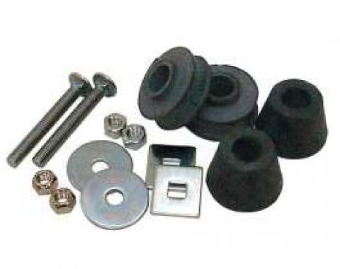 Chevy Truck Mount Kit, Radiator Core Support, 1969-1972