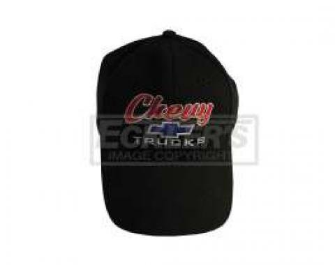 Chevy Trucks Black Cap With Bowtie Logo