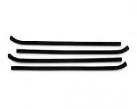 Chevy Truck Door Window Felt Set, 1960-1963