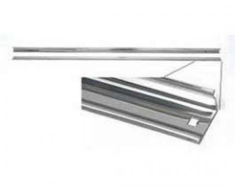 Chevy Truck Angle Bed Strips, Steel, Short Bed, Step Side, 1967-1972