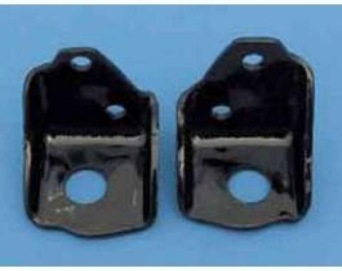 Chevy Truck Front Engine Angle Mounts, Small Block, 1955-1959
