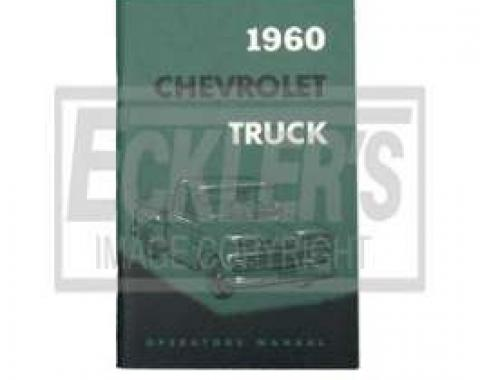 Chevy Truck Owner's Manual, 1960