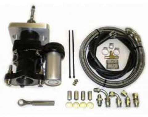 Chevy Truck Brake Booster, Hydraboost, Short Pushrod, With Lines, 1980-1987