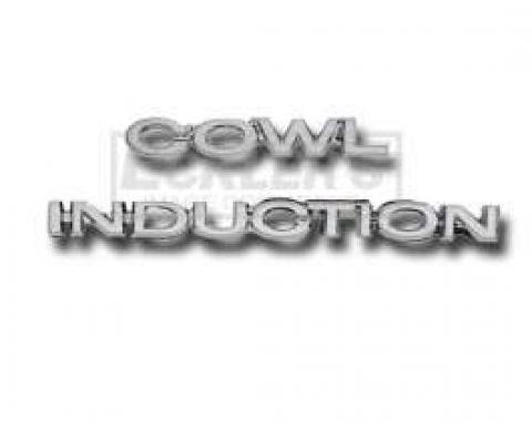 Chevy Or GMC Truck Cowl Induction Hood Emblems