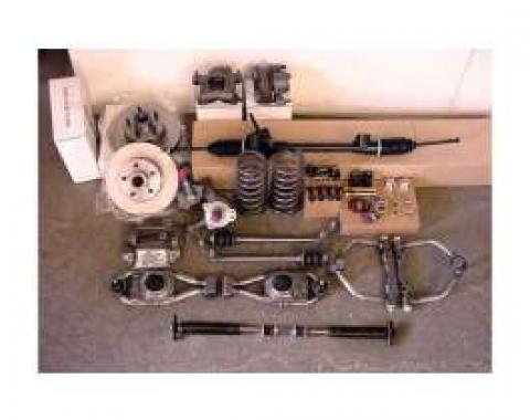 Chevy Truck Front Suspension Components, Mustang II, Chassis Engineering, 1949-1954