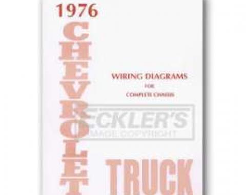 Chevy Truck Wiring Diagram, 1976