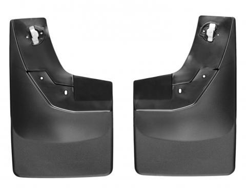 WeatherTech 120035 - Black MudFlap No-Drill DigitalFit