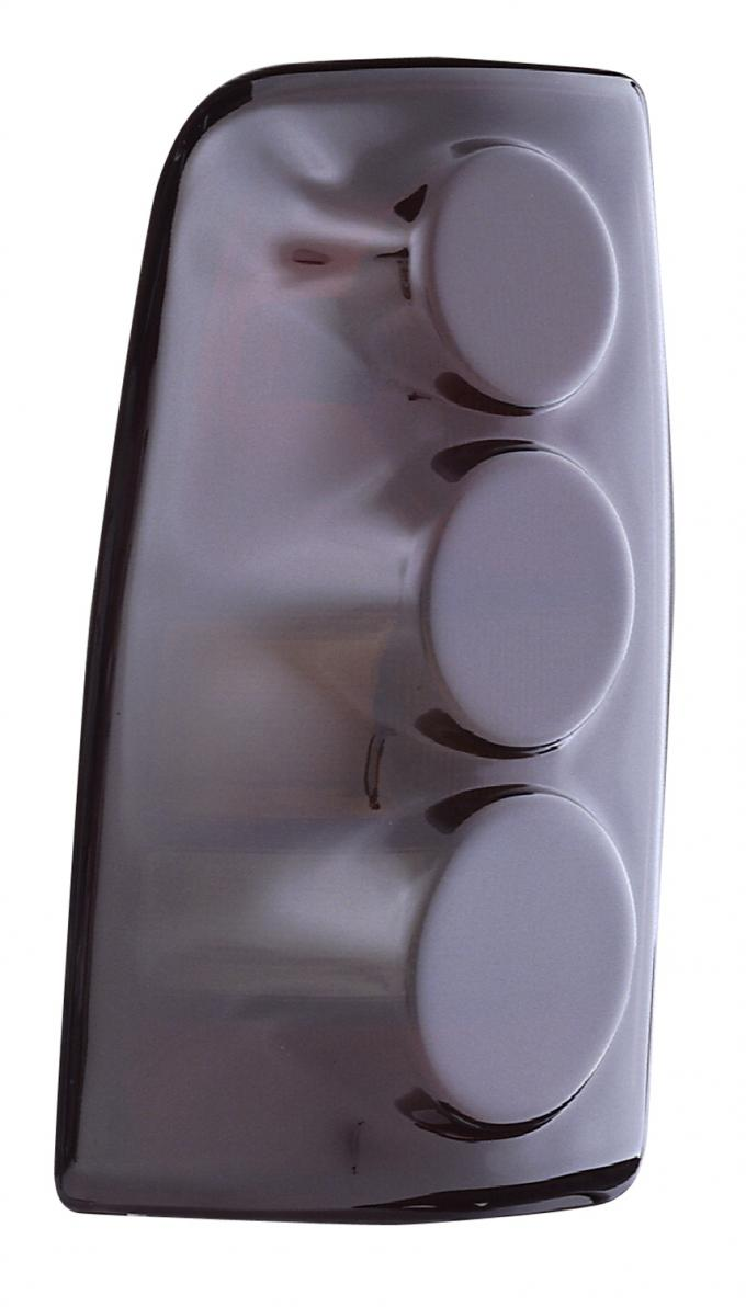 GT Styling 950142, Tail Light Cover, Proteeza (TM), 3-Dimensional Design, Smoke, Plastic, Set Of 2