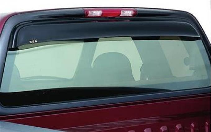 GT Styling 57993, Rear Window Deflector, Shadeblade (R), Smoke, Plastic