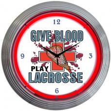 Neonetics Neon Clocks, Lacrosse Neon Clock